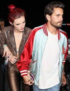Scott Disick and Bella Thorne