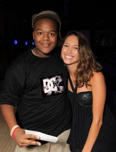 Kyle Massey and Maiara Walsh