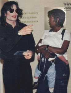 Michael Jackson and Grace Rwaramba