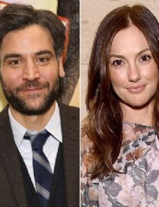 Josh Radnor and Minka Kelly