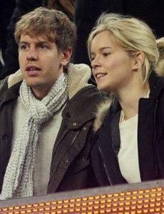 Sebastian Vettel and Hanna Prater
