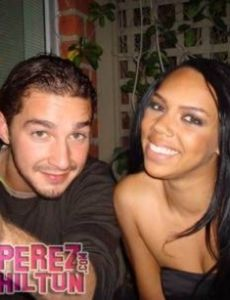 Shia LaBeouf and Kiely Williams