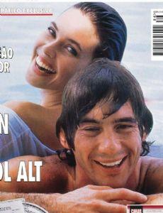 Carol Alt and Ayrton Senna