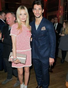 David Gandy und Laura Whitmore