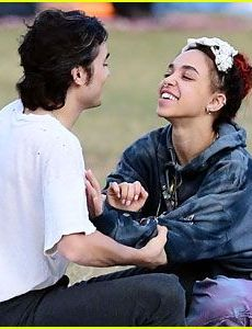 FKA Twigs and Reuben Esser