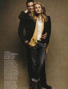 Anna Jagodzinska and Duncan Winecoff