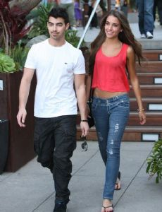 Georgina Rosso and Joe Jonas