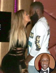 James Harden and Khloé Kardashian