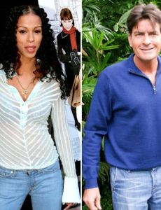 Heather Hunter and Charlie Sheen