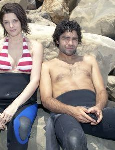 Adrian Grenier and Ashley Greene