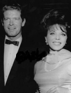 Stephen Boyd and Joan Collins