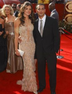 Courtney Robertson and Jesse Metcalfe