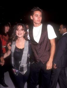 Soleil Frye and Jared Leto