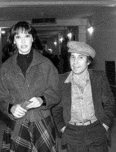 Shelley Duvall and Paul Simon