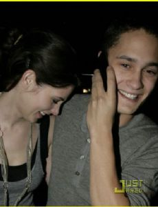 Ashley Greene and Rafi Gavron