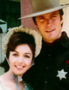 Clint Eastwood and Roxanne Tunis