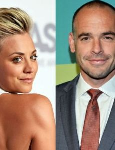 Paul Blackthorne and Kaley Cuoco-Sweeting