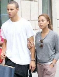 Stephen Curry (basketball) and Ayesha Alexander