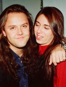 Linda Walker (dated Lars Ulrich)