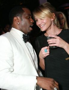 Cameron Diaz and Sean Combs
