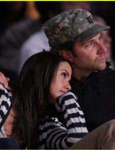 Isabella Brewster and Bradley Cooper