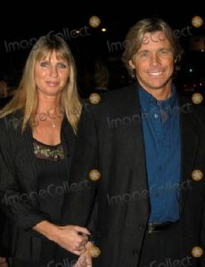 Christopher Atkins and Lynne Barron