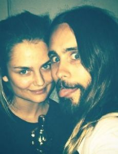 Jared Leto and Dimphy Janse