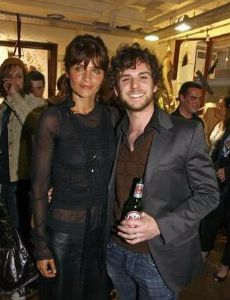 Helena Christensen and Guy Berryman