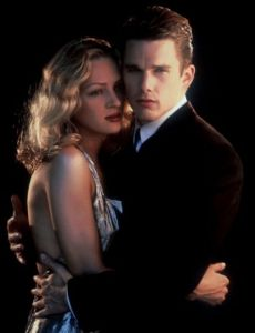 Ethan Hawke and Uma Thurman