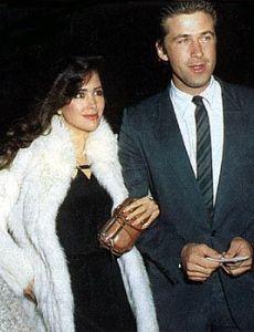 Alec Baldwin and Janine Turner
