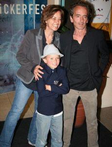 Greta Scacchi and Carlo Mantegazza