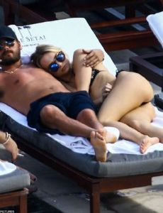 Scott Disick and Amber Davis (model)