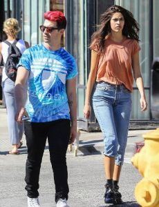 Joe Jonas and Juliana Herz