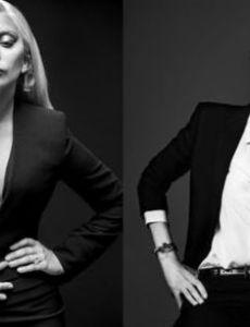 Angelina Jolie and Lady Gaga