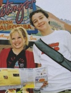 Shia LaBeouf and Hilary Duff