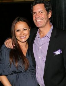 Moon Bloodgood and Grady Hall