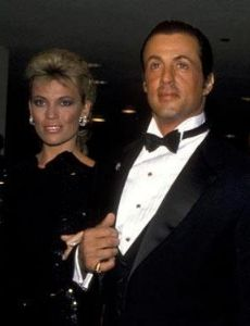 Sylvester Stallone and Vanna White
