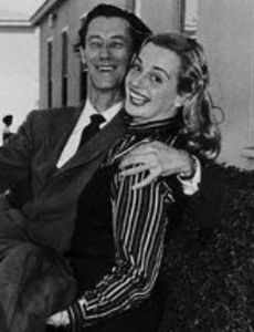 John Carradine and Sonia Henius Sorel