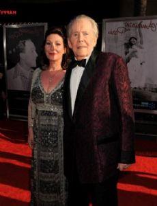 Peter O'Toole and Karen Brown