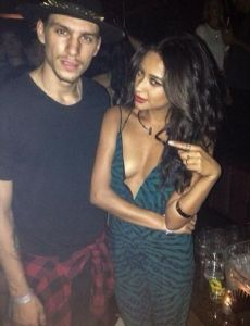 Shay Mitchell and Steve Milatos
