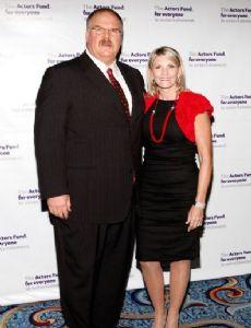 Andy Reid and Tammy Garrett