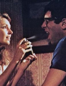 Jennifer O'Neill and Elliott Gould