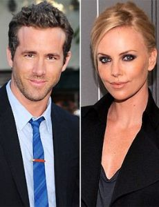 Charlize Theron und Ryan Reynolds