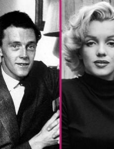 Marilyn Monroe and Colin Clark