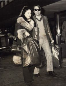 Robert Vaughn and Linda Staab