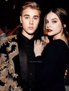 Justin Bieber and Barbara Palvin
