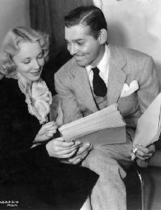 Virginia Bruce and Clark Gable