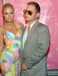 Paris Hilton and Scott Storch