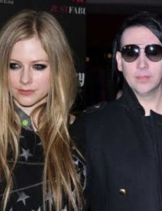 Marilyn Manson and Avril Lavigne