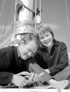 Axel Jensen and Marianne Ihlen